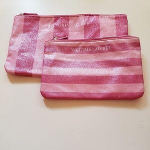 Victoria's Secret Bundle of 2 Cosmetic Bags